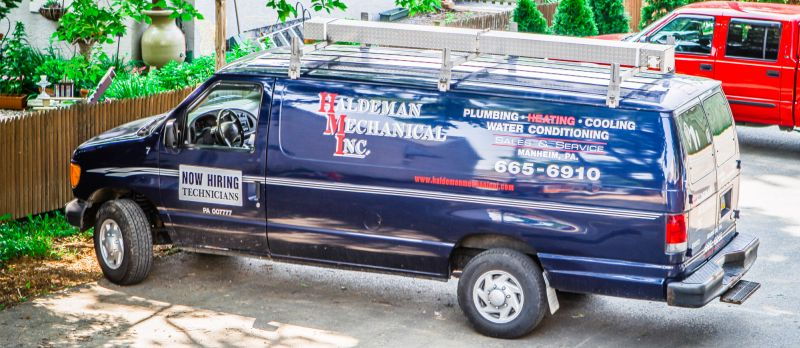 Haldeman Mechanical service van