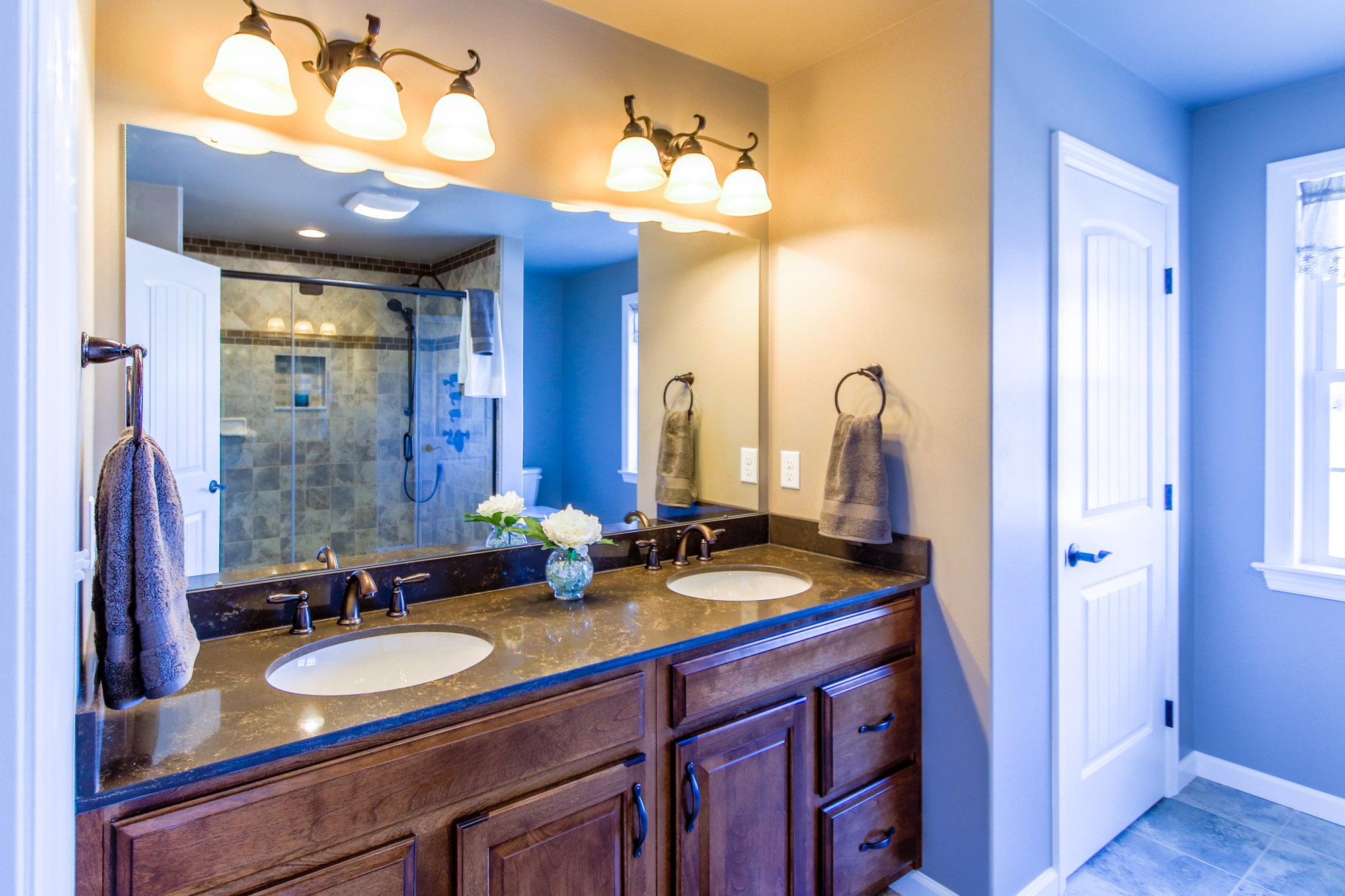 Bathroom kitchen remodel haldeman mechanical inc for Bathroom remodel help